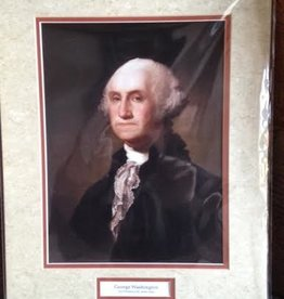George Washington (11 x 14, Matted Print)