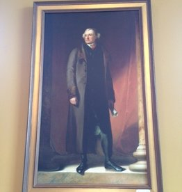 Thomas Jefferson Print (Framed and Textured Print)