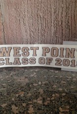 West Point Class of 2018 Decal with Crest (Original Style)