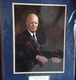 Eisenhower Matted Print