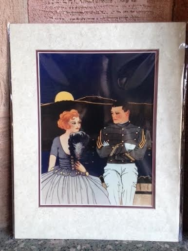 Courting Cadet Print