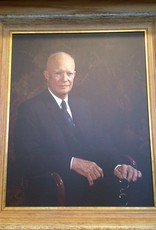 DWIGHT D. EISENHOWER FRAMED PRINT (16 X 20)