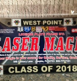 2018 Glossy License Plate Frame