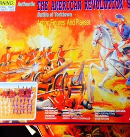 Battle of Yorktown Action Figures and Playset