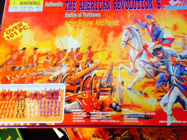 Battle of Yorktown Acton Figures and Playset