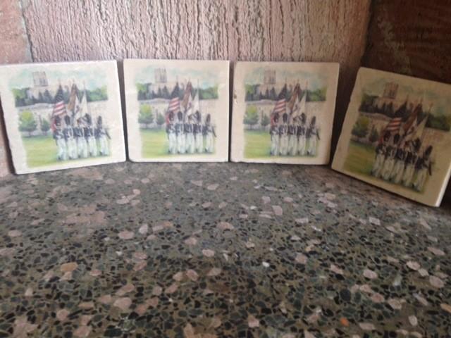 West Point Color Guard Coasters (Four per Set)