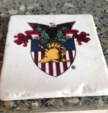 USMA Soapstone Coasters (Four Per Box)