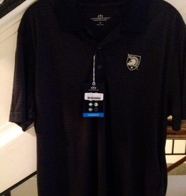Men's Tonal Stripe Polo with Army West Point Shield
