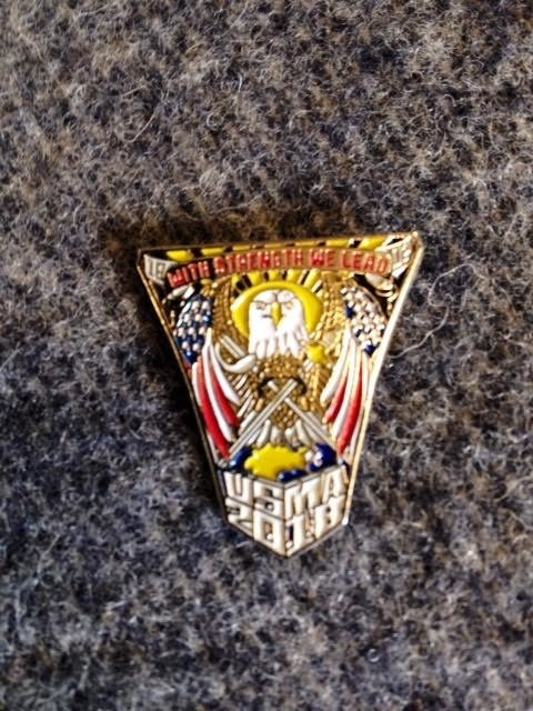 USMA 2018 Crest Lapel Pin (FINAL SALE)