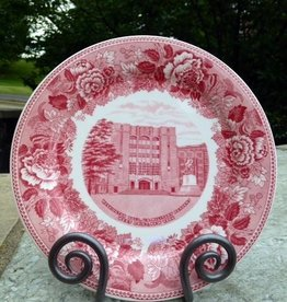 """Washington Hall""/West Point Dinner Plate/Rose"