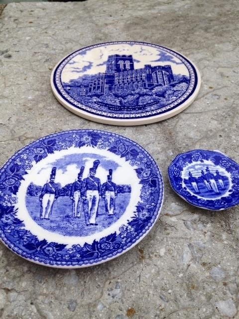 West Point China Miniature  Plate