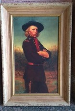 Framed LT Colonel George A. Custer (12 x 18)