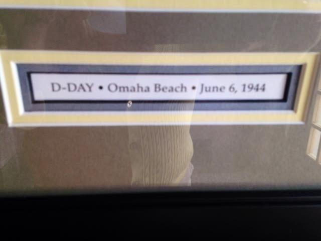 D-Day, Omaha Beach (18 x 33), Framed Print