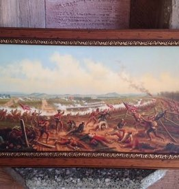 Gettysburg, The First Day. Framed Print