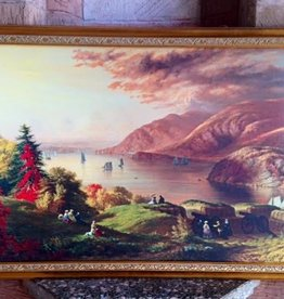 View From Fort Putnam Framed Print (21 x 33)