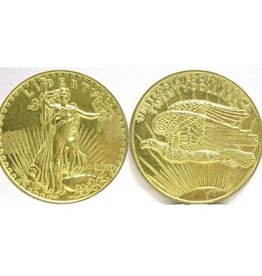 Jumbo Coin: $20 Gold Piece Dollar