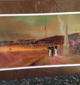 George Catlin Print of United States Military Academy