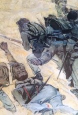 Charge of the 22nd Negro Regiment (Matted Print, 14 x 18)