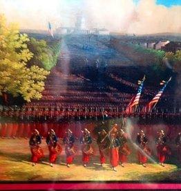 Zouave Regiment Marching Down Pennsylvania Avenue, Washington, D.C.