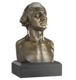 George Washington, Houdon Bust Replica, 6 inch