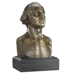 George Washington Houdon Bust, 6 inch