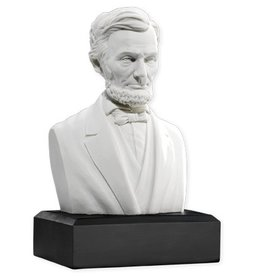 Lincoln Bust, Houdon Bust Replica, six inches