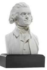 Thomas Jefferson, Houdon Bust Replica, 6 inch