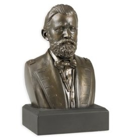 Ulysses S. Grant, Houdon Bust Replica, 6 inch