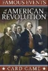Famous Events of the American Revolution Card Game