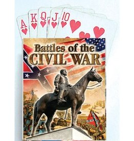 Battles of the Civil War Playing Cards