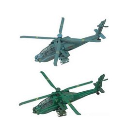 Apache Helicopter Pullback Toy