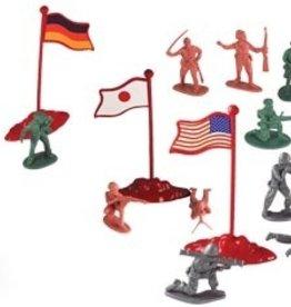 Battle Combat Figures, 200 pieces
