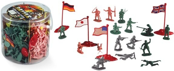 Battle Combat Figures, 200 pieces