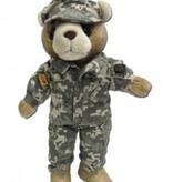 "Female Teddy Bear in ACU's (10"")"