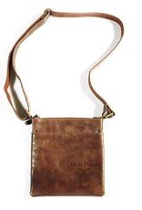 Classic Satchel Design. 8 1/2 inches wide by 10 inches high