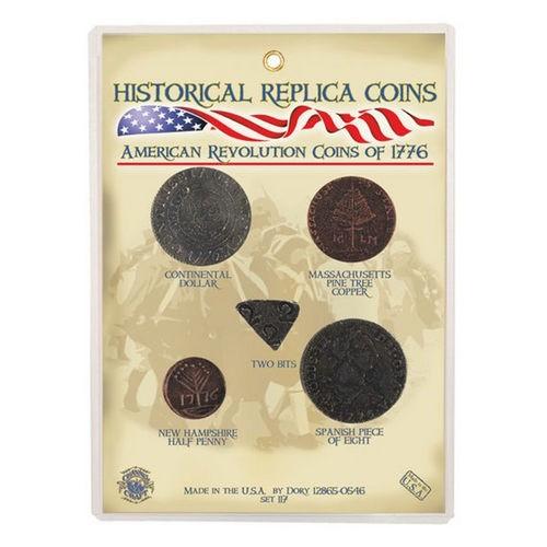 American Revolution Coins 1776