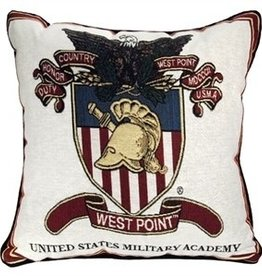 West Point Crest Pillow