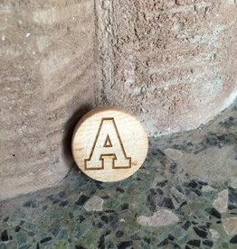 "Block""A"" Bottle Stopper"