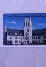 """West Point MuSmall, accordion fold out, pamphlet, with """"Treasure Hunt"""" in the West Point Museumseum Treasure Hunt"""