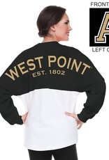West Point Spirit Jersey (Black/White Colorblock)
