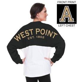 West Point Spirit Jersey (Black/White Colorblock)