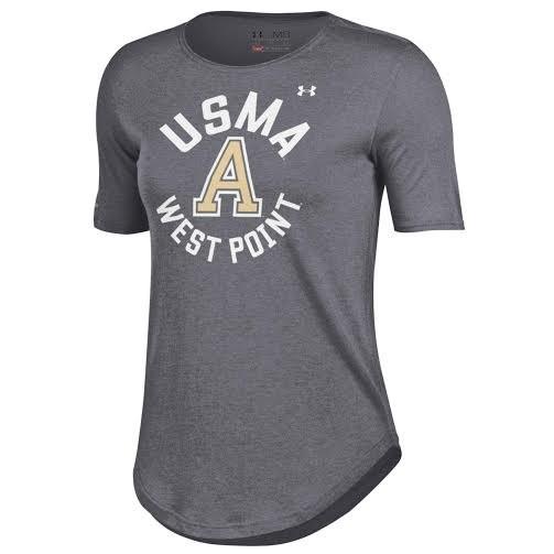 Under Armour Women's Crew T Shirt/Gray
