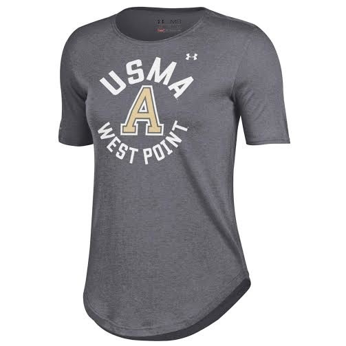 "Under Armour Women's Crew Tee with Army ""A"""