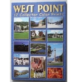 Twelve Color Postcards, Scenes of West Point, Printed in Italy