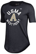 Under Armour Women's Crew T-Shirt/Black