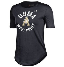 Under Armour Women's Crew T-Shirt/Black