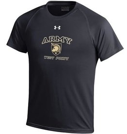 "Under Armour Youth Tech Tee with ""Army,"" USMA Logo, and ""West Point"" on front"