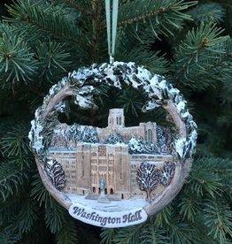 Washington Hall Ornament (Hand Painted)