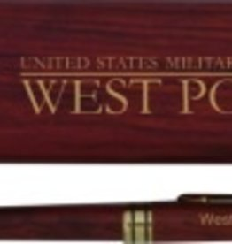 Wooden West Point Pen Set