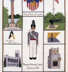 USMA Sampler Cross Stitch (Posy Collection)
